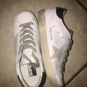 Inspired Golden Goose Leather Shoes Size 8/39